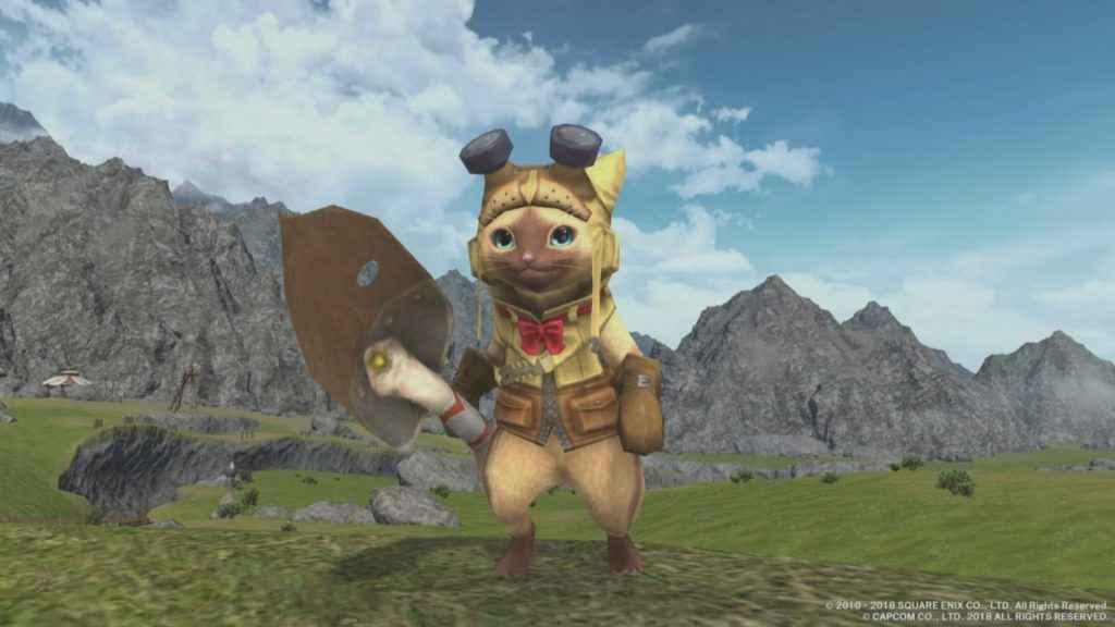 Monster Hunter World Final Fantasy XIV Rewards – Armor, Minions and