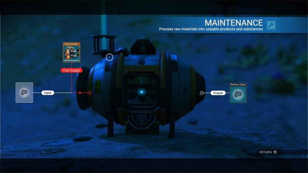 no man's sky portable refiner