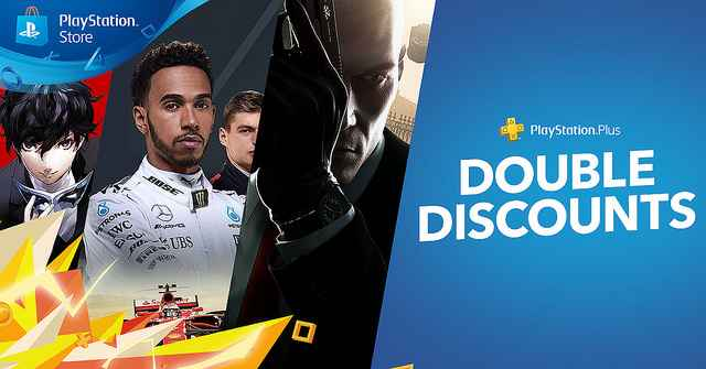 playstation plus double discounts sale