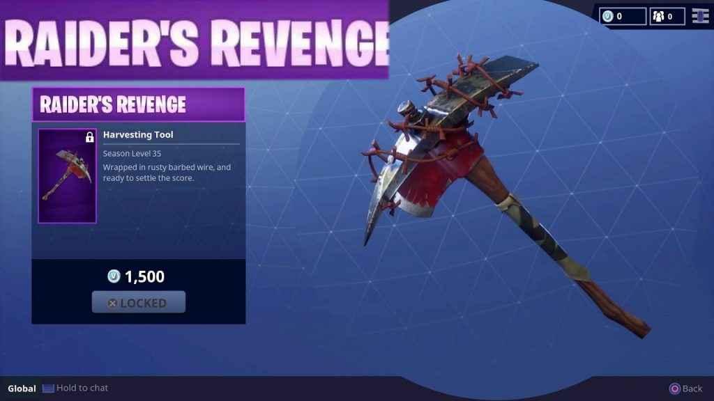 rare skin raider's revenge