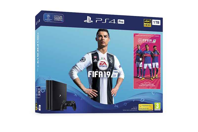 FIFA 19 PS4 bundles