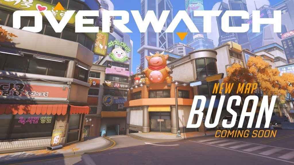 New Overwatch Map, Busan