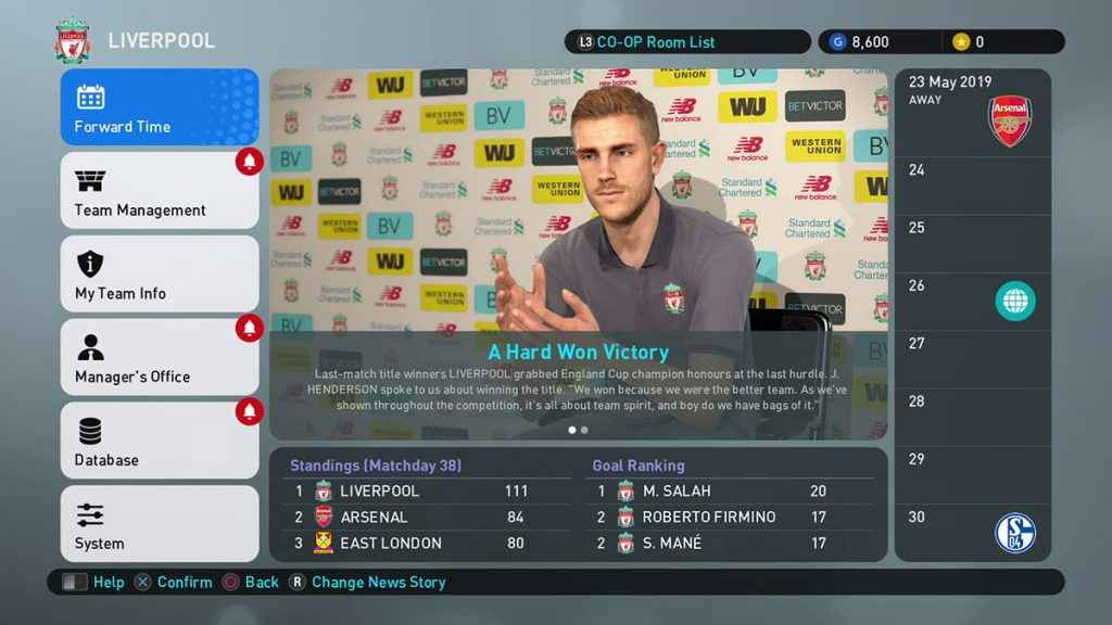 PES 2019 Review PS4 03