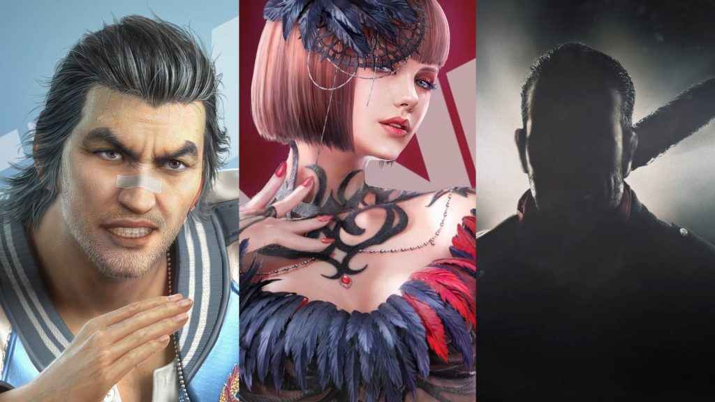 Tekken 7 DLC Characters - Lei, Anna, and Negan