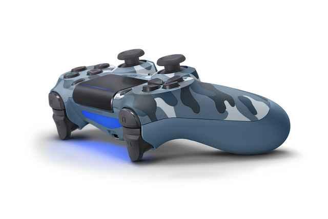 blue camo dualshock 4