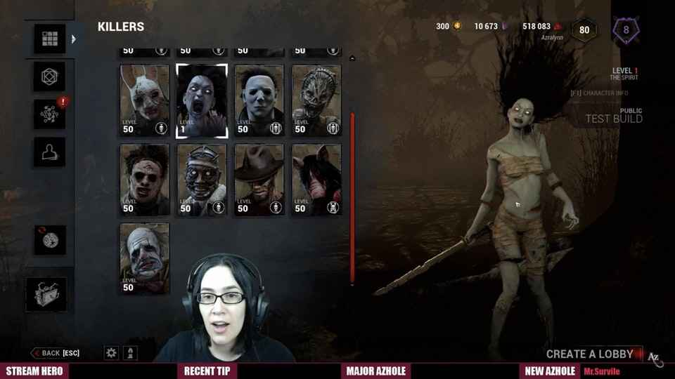 Dead By Daylight New Killer Is The Spirit - Perks And Powers Revealed