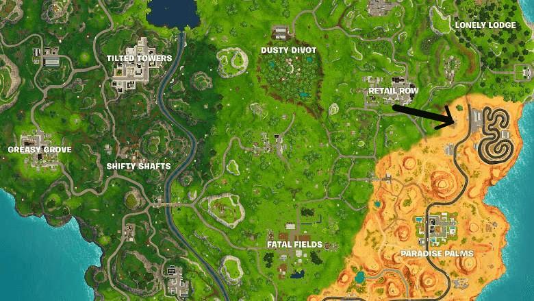 fortnite secret battle star location