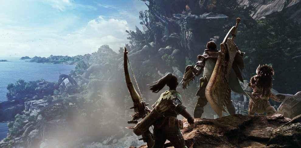 monster hunter world mounting