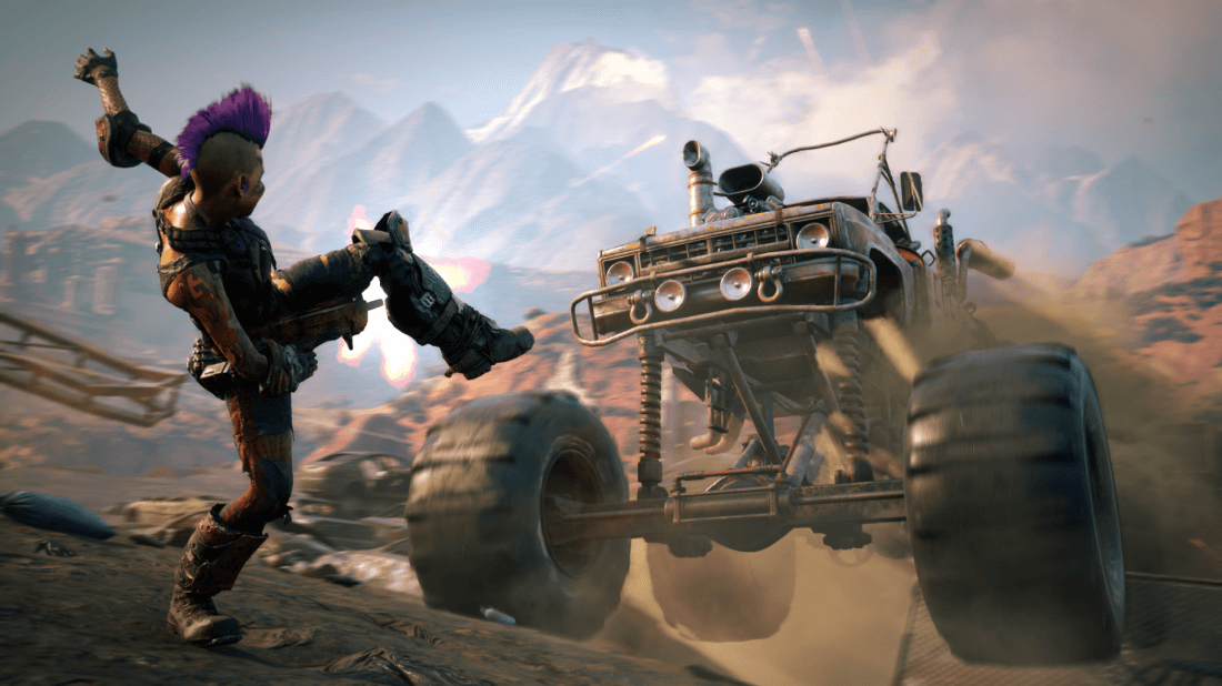 Witness This Bonkers New Rage 2 Gameplay in Extended Trailer