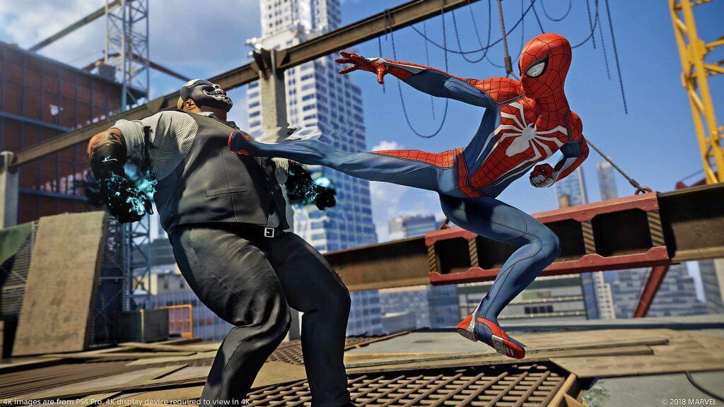 Spider-Man PS4 dynamic theme
