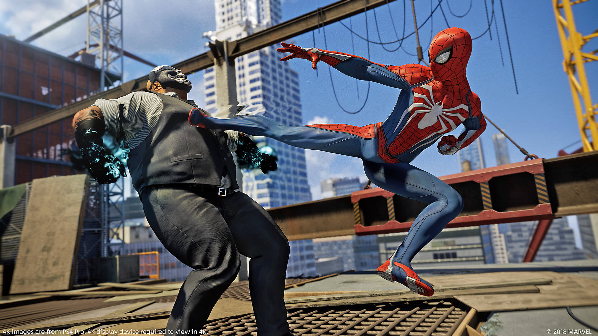 Spider-Man PS4 Dynamic Theme Is Free - PlayStation Universe