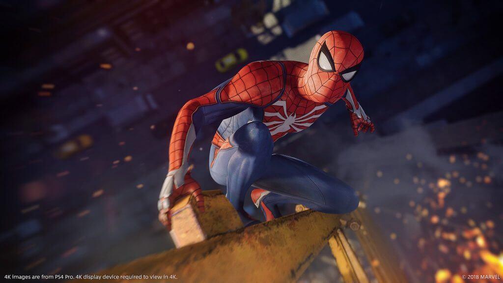 spider-man ps4 update