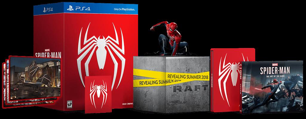 spider-man ps4 statue open