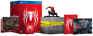 spider-man ps4 statue open