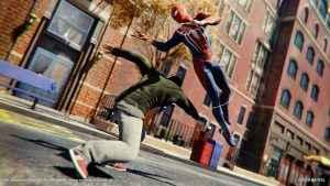 spider-man ps4 level cap