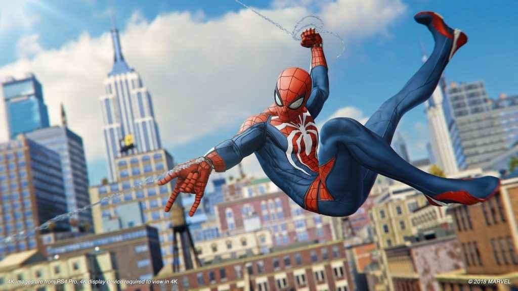 spider-man ps4 pro resolution
