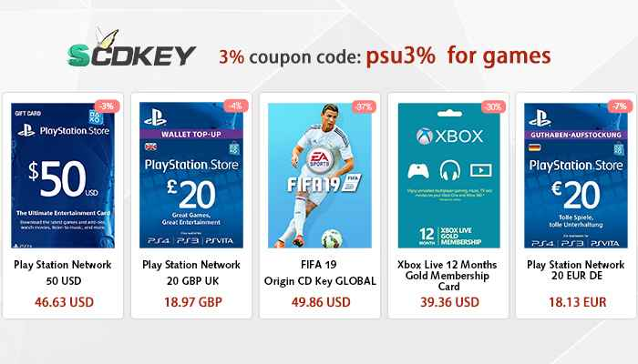 Cheap Psn Cards And Coupon Codes Money Off Ps4 And Xbox One Games Playstation Universe