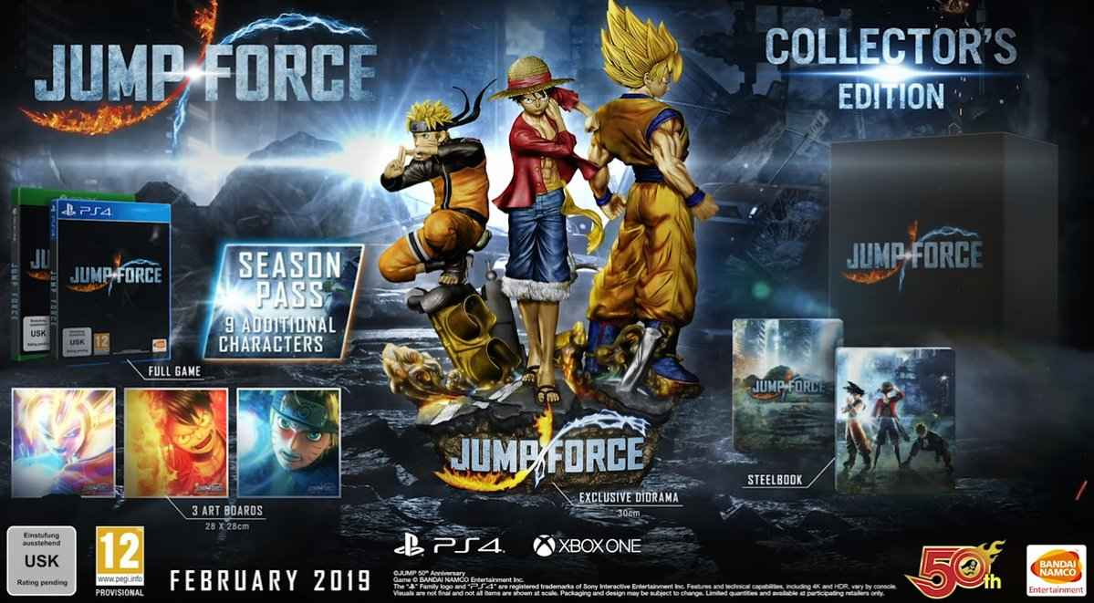 Jump Force Collectors Edition 01