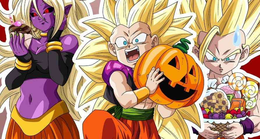 Dragon Ball FighterZ Halloween