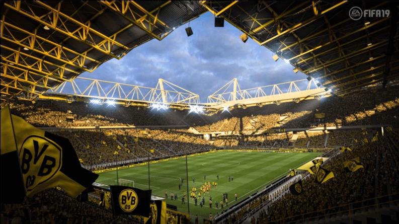 FIFA 19 Stadiums - Borussia Dortmund's Westfalenstadion