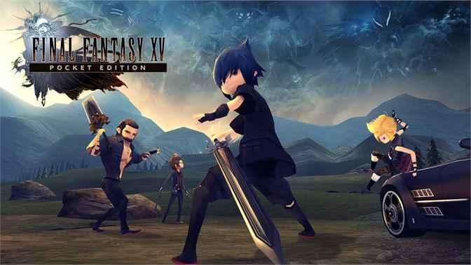 Final Fantasy XV Pocket Edition PS4