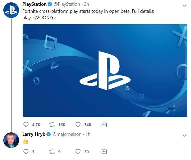 Fortnite PS4 Cross Platform Play Confirmed With Account