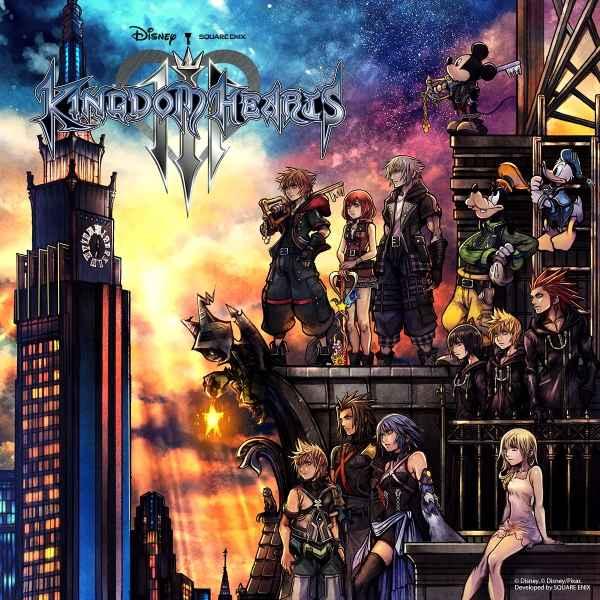 Kingdom Hearts III Boxart