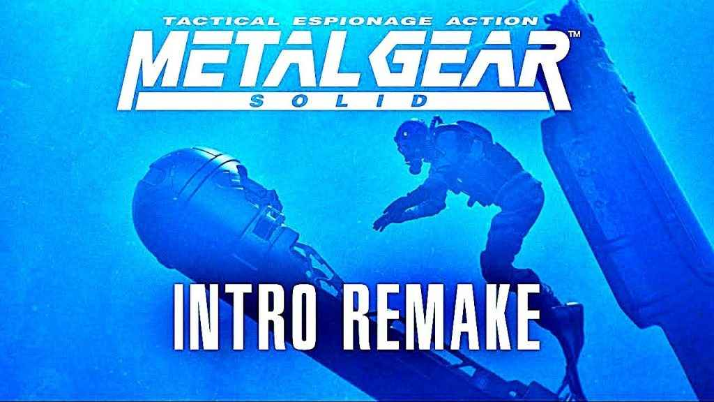 Metal Gear Solid Intro Remake
