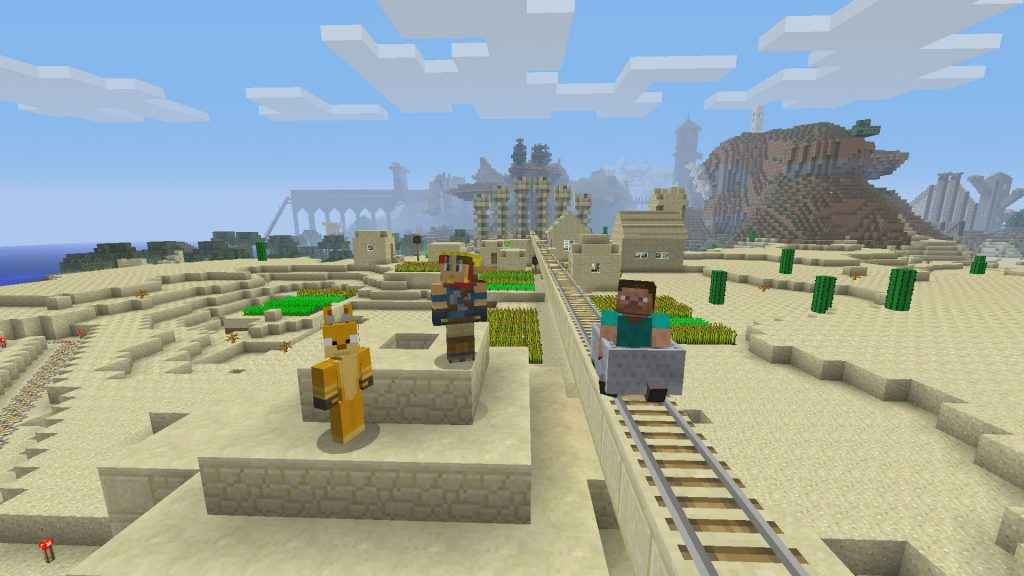 Microsoft Wants Minecraft Cross-Play with PS4