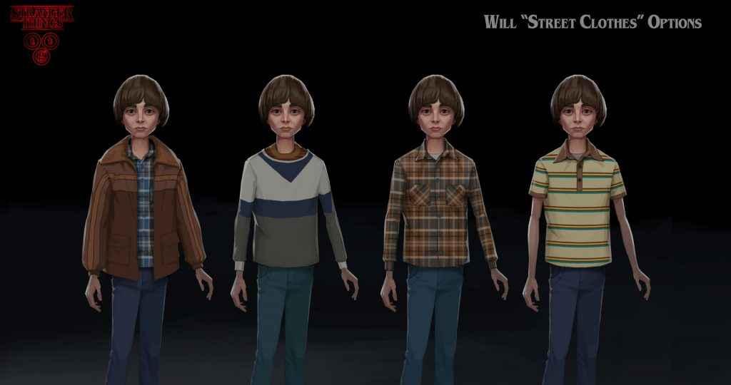 Telltale's Stranger Things Game Concept Art