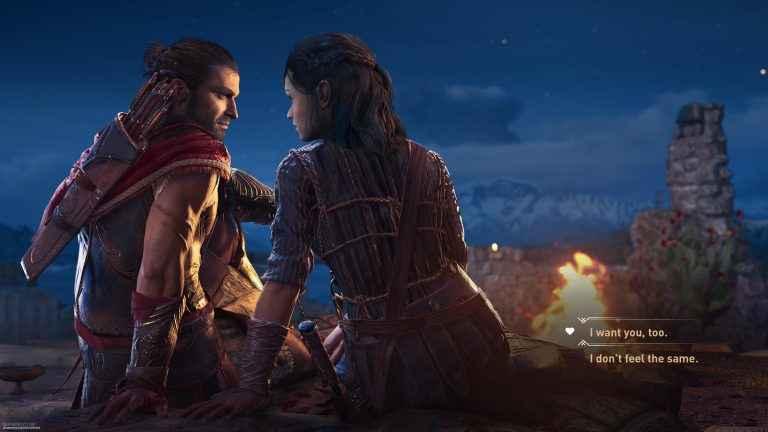 Assassins Creed Odyssey developers talk same-sex romance options | EW.com