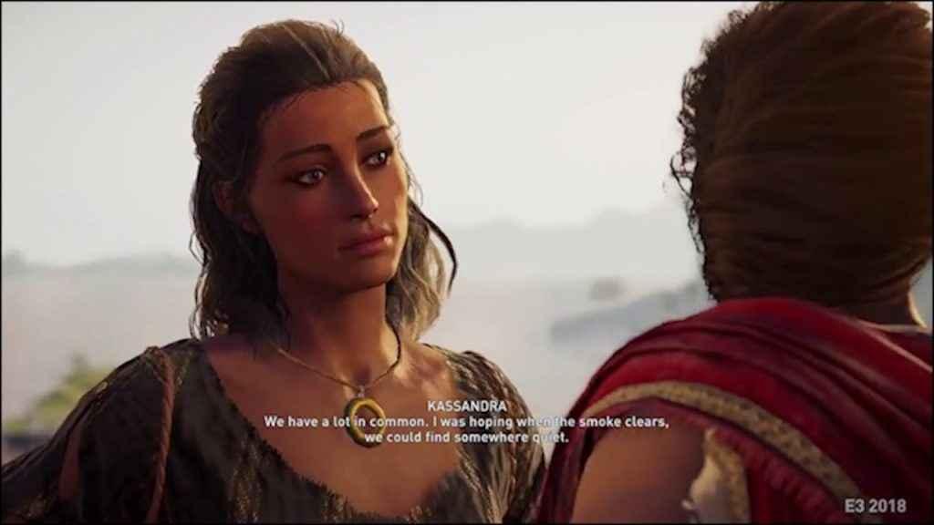 assassin's creed odyssey romance options kassandra kira