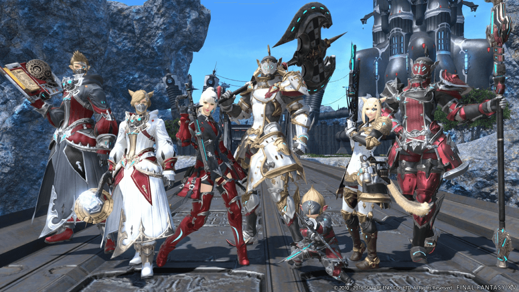 Final Fantasy XIV Update 4.4