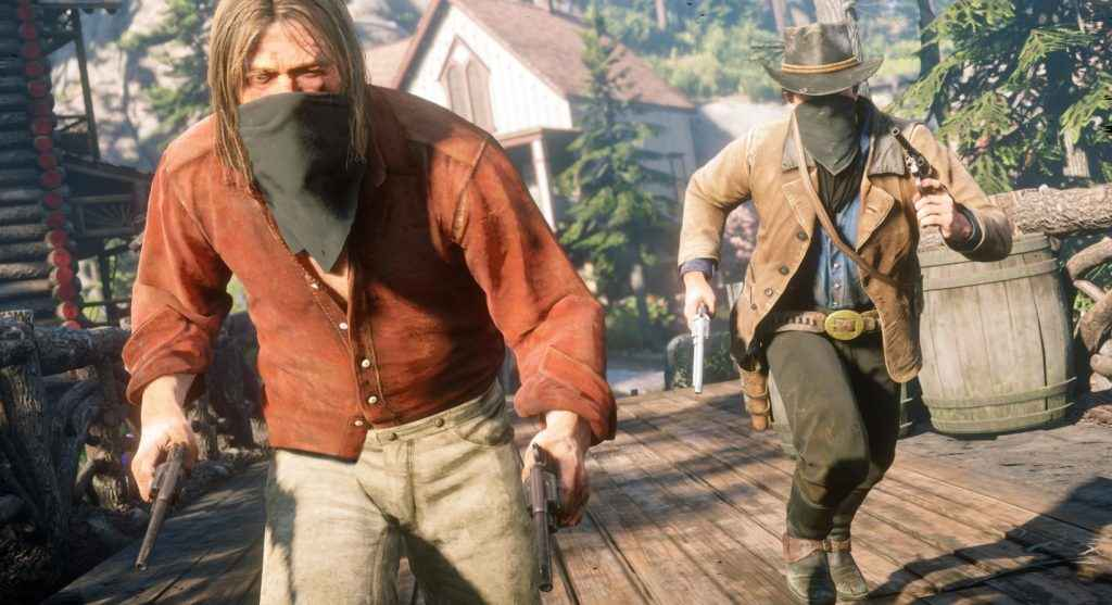 Red Dead Redemption 2 Screenshots Released PlayStation