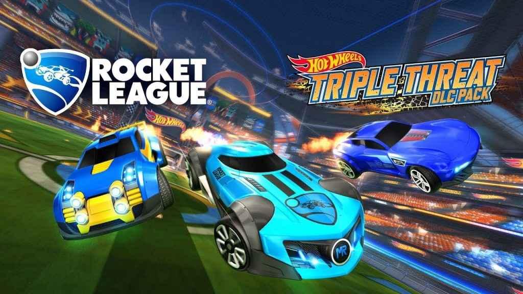rocket league dlc hot wheels