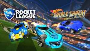 rocket league dlc hot wheels