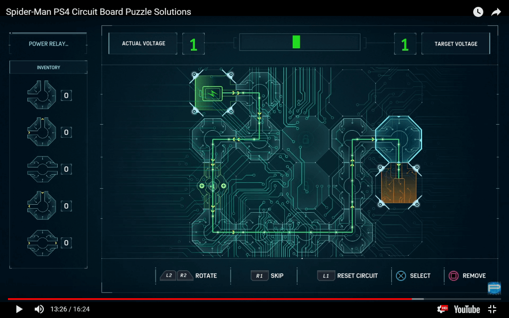 spider-man circuit board 12