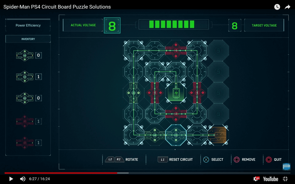 Spider-Man PS4 Circuit Board Solutions - PlayStation Universe