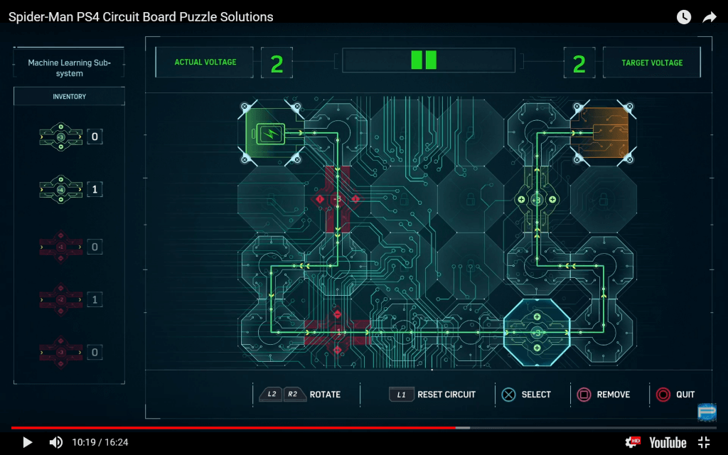 spider-man circuit board 9
