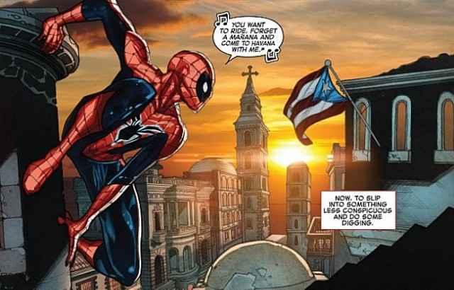 spider-man marvel cuba