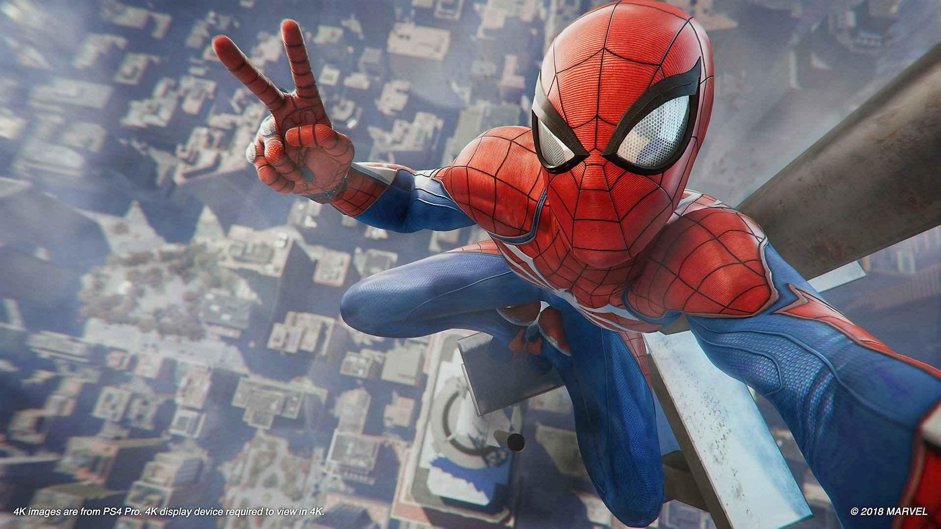 Spider Man Ps4 Wallpaper Playstation Universe