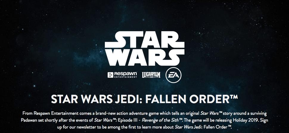 star wars jedi fallen order gameplay