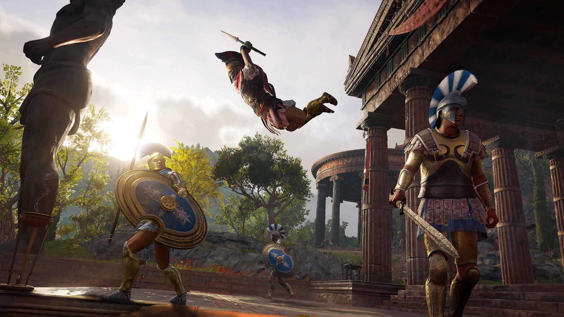 Assassin S Creed Odyssey Patch 1 03 Now Available To Download On Ps4