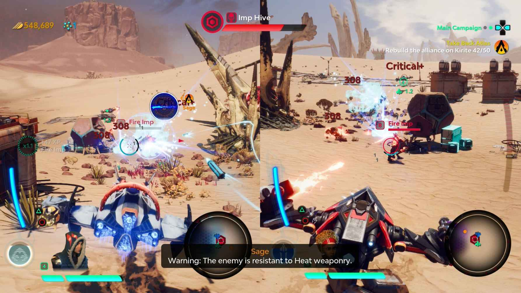 Starlink Battle For Atlus Review - CO-OP is also available in the game