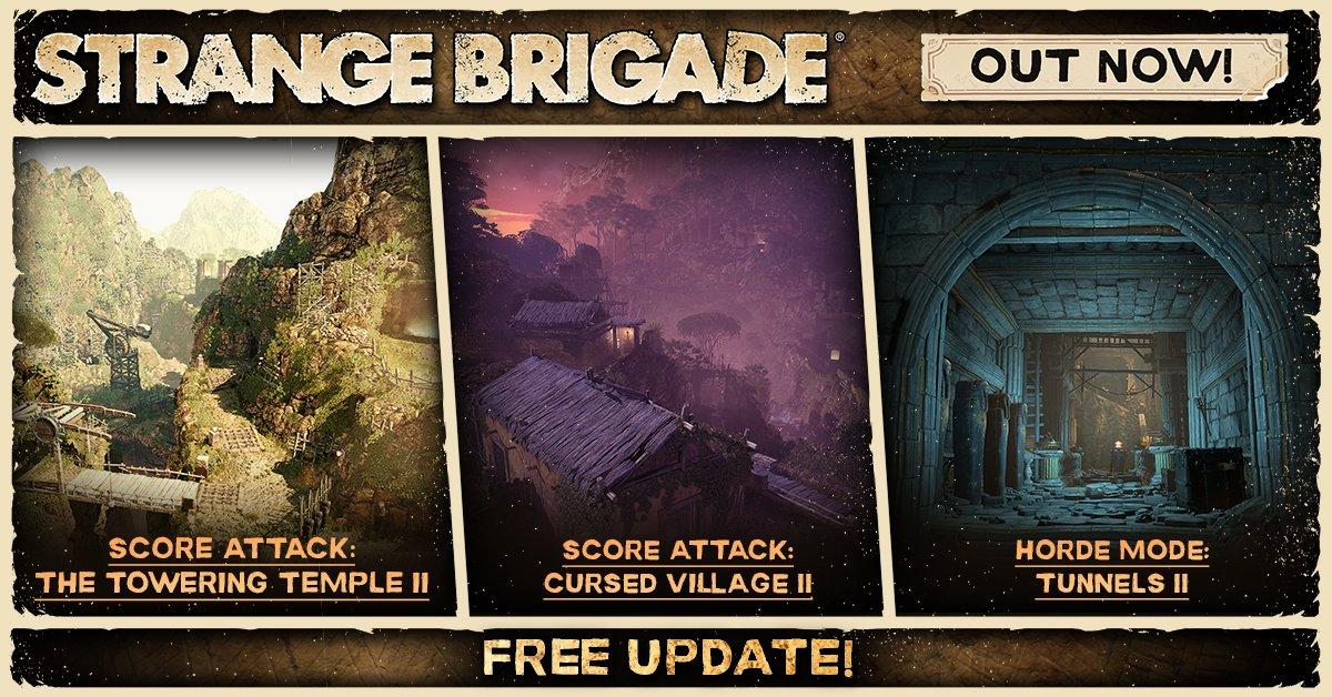 Strange Brigade update 1.05