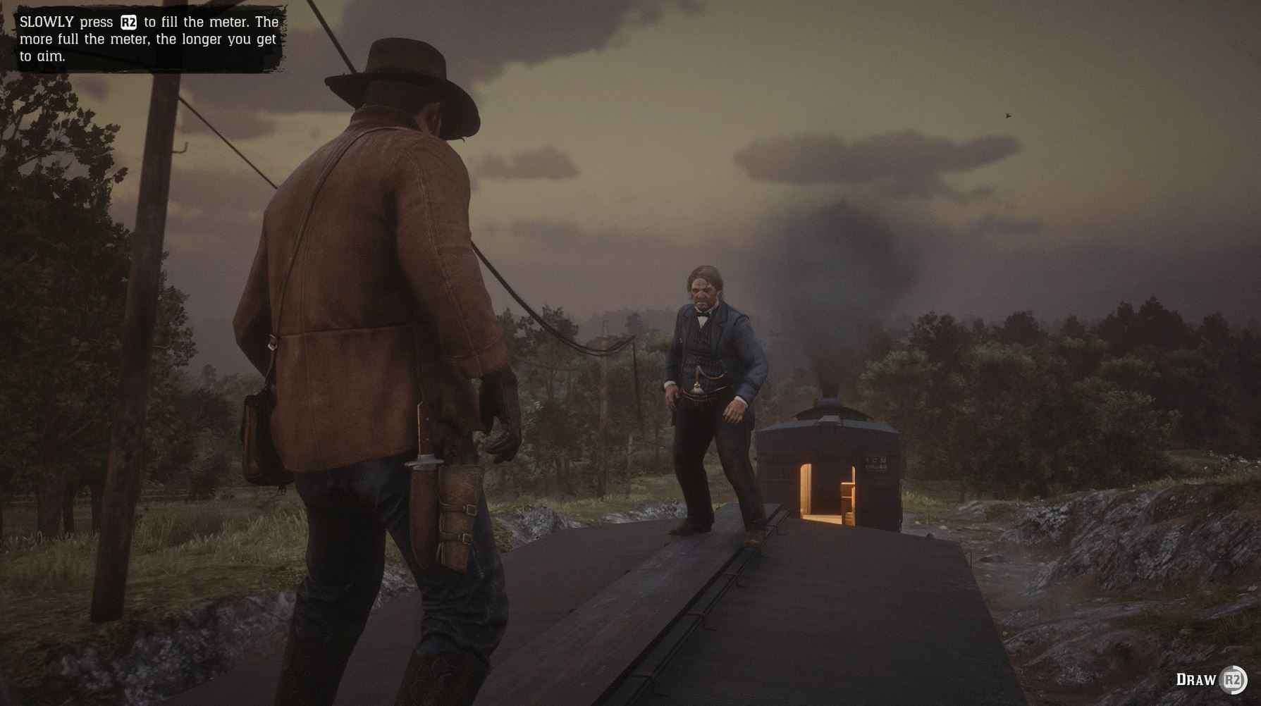 In Red Dead Redemption 2 Dueling is a prominent mechanic.