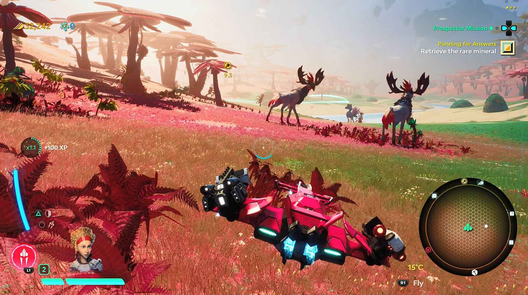 Starlink Battle For Atlas Review - Haven is one of the best looking planets.