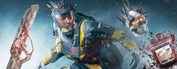 One of the Rainbow Six: Siege Mad House Event Skins.