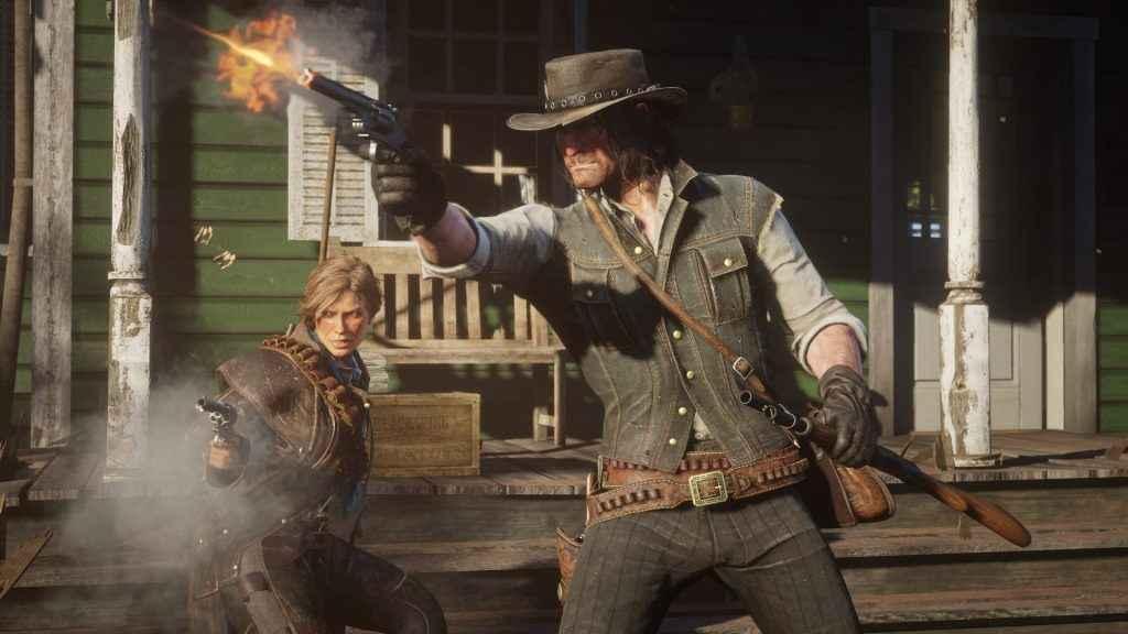 Red Dead Redemption 2 infinite ammo