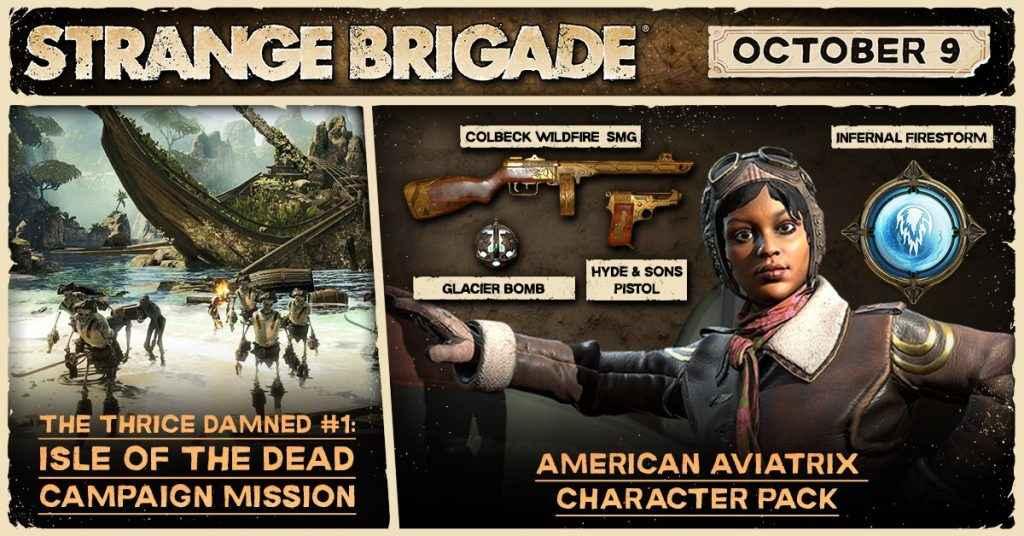 Strange Brigade The Thrice Damned DLC